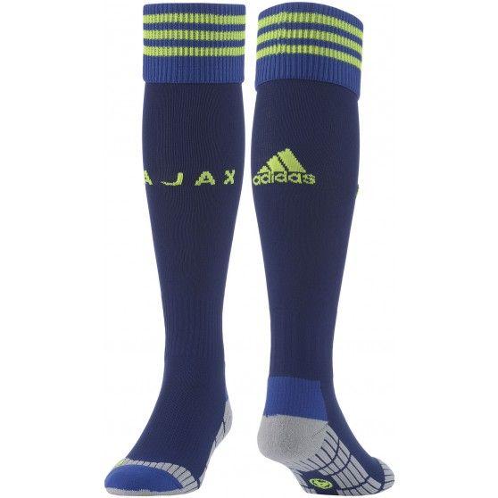 De Ajax #uitsokken van @adidas horen bij het 2014-2015 uittenue. In de sokken zijn kussentjes verwerkt die zorgen voor schokdemping en ondersteuning. #dws