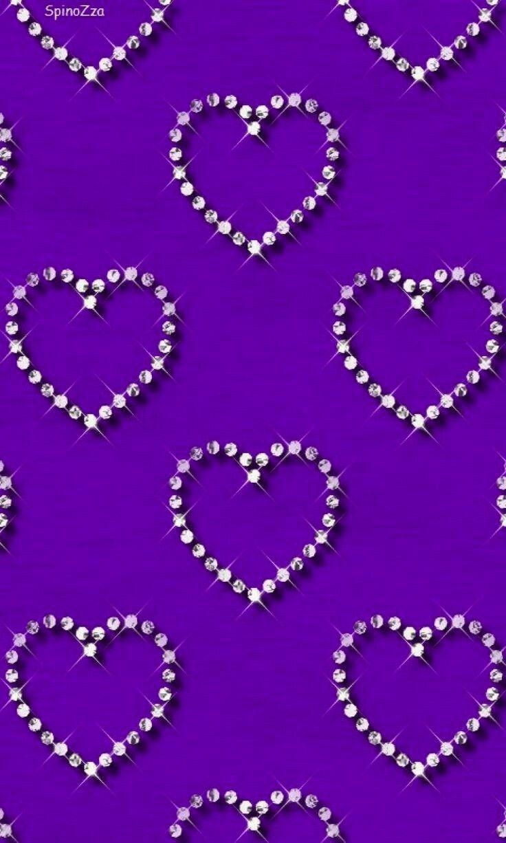 женщины-нудистки обои на телефон красивые фиолетовые сердечки означает