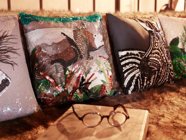 The #Safari collection brings the rolling plains of #Africa into the home through intricate embellishments, colours and wildlife designs.