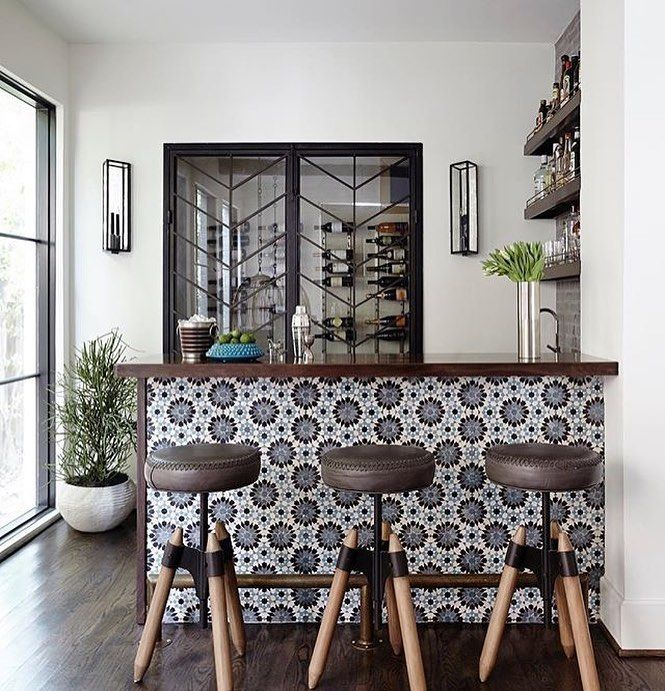 With Summer ending you can find us here the rest of the year sitting in front/or behind this custom bar. Please send limes salt and... Repost/Design: @tracyhardenburgdesigns Luxe Interiors   Design Magazine
