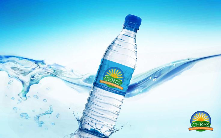 Mockup for water bottle label design. | My personal art ...