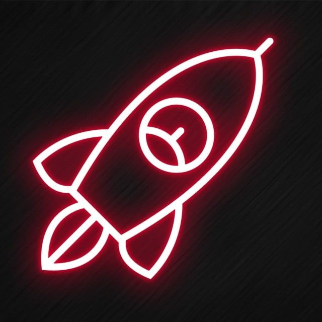 Rocket Icon In Neon Style Style Icons Rocket Icons Neon Icons Png Transparent Clipart Image And Psd File For Free Download Neon Light Icon Wallpaper Iphone Neon