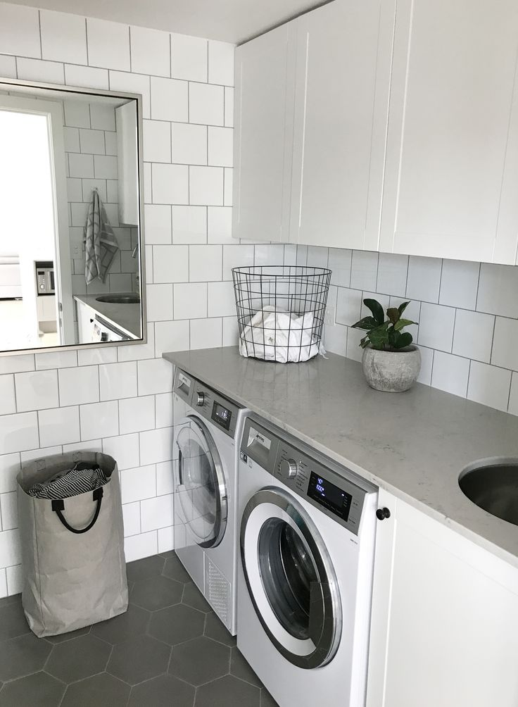 A SMALL BUT PRACTICAL LAUNDRY