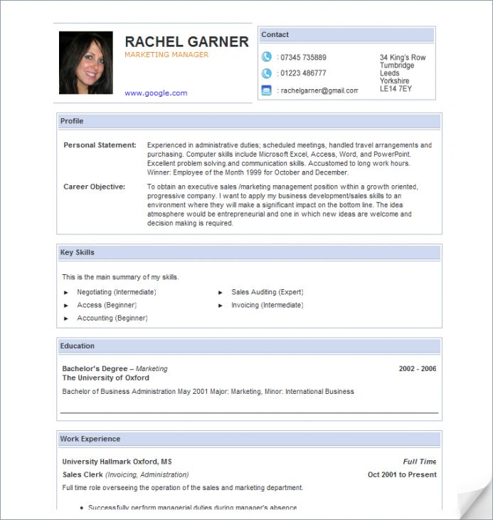 looking for a specific sample resume to use as a resume template or guide check out our - Best Resume Format