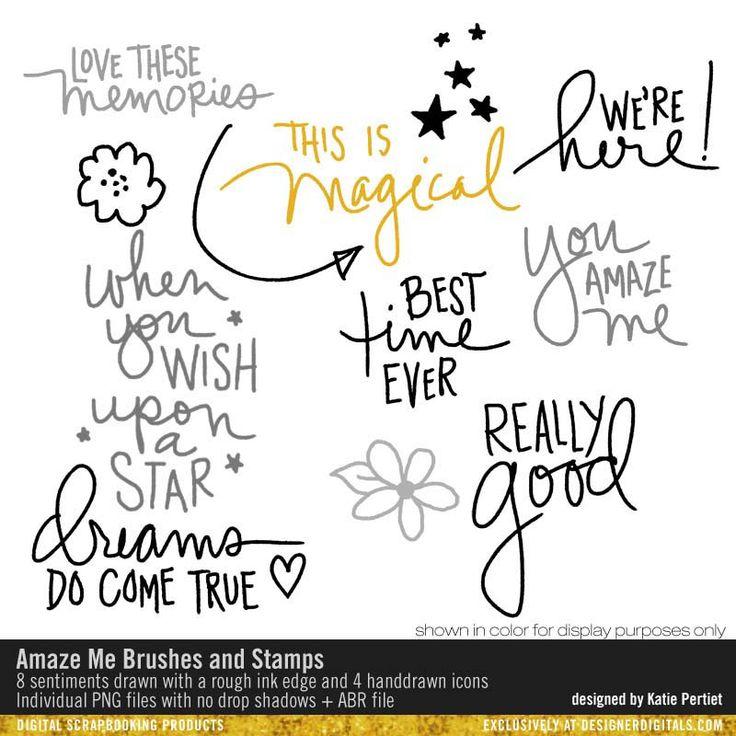 Amaze Me Brushes and Stamps- Katie Pertiet Brushes- DS398595- DesignerDigitals