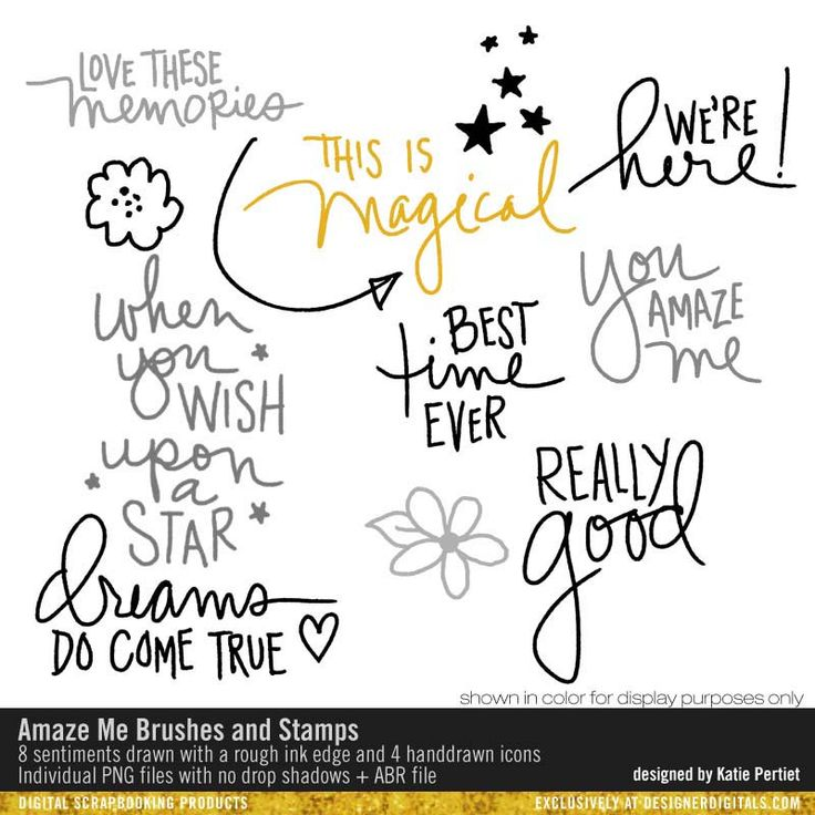 Amaze Me Brushes and Stamps- Katie Pertiet Brushes- DS398595- DesignerDigitals