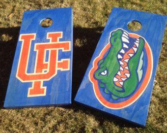 Cornhole Game by Colorado Joe's University of Florida Gators | Pinned by SECfootball101.com