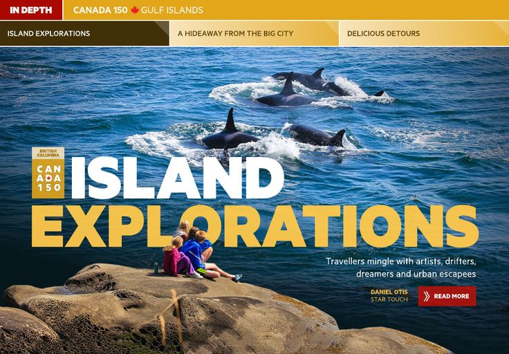 Island explorations - Toronto Star Touch