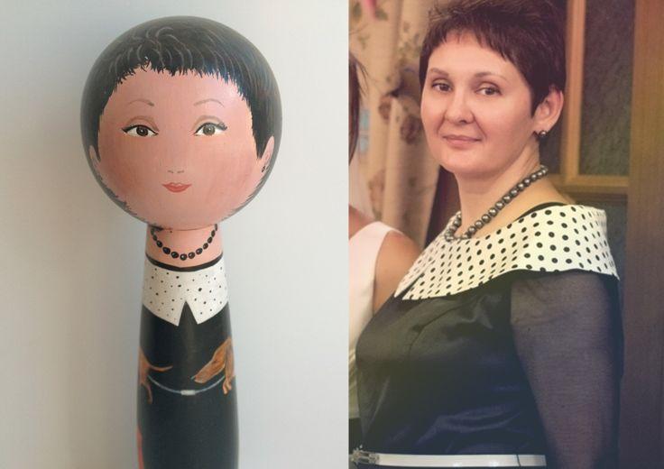 портретная подарочная кукла