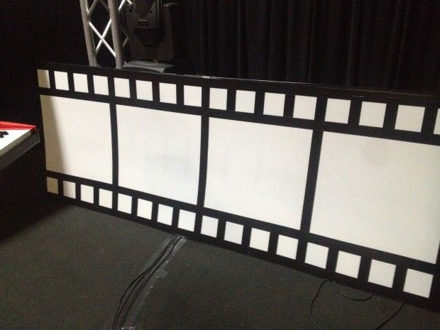 film strip stage