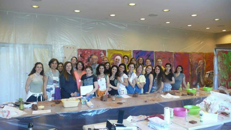 Michael Franklin Art Therapy workshop in Istanbul, Arkabahçe. It's a dream.