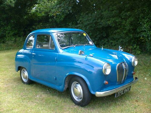 Austin A30, Blue SOLD (1955). to see more classic car visit here- rearviewprints.com