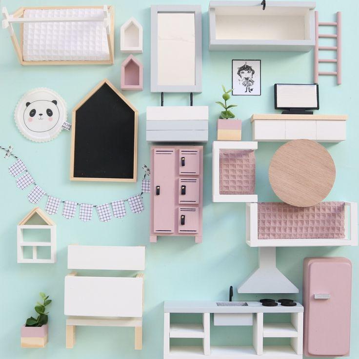 Dollhouse furniture poppenhuis meubels Poppenhuis