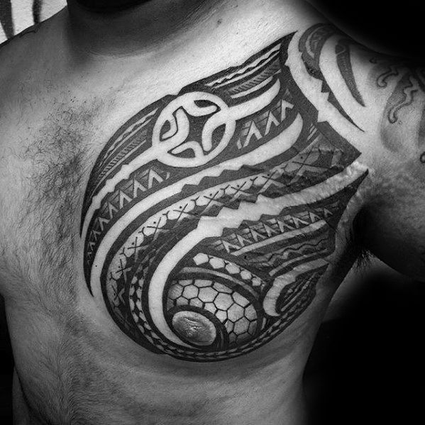 Mens Chest Tattoo Ideas With Filipino Tribal Design Filipinotattoostribal Filipino Tribal Tribal Chest Tattoos Filipino Tribal Tattoos