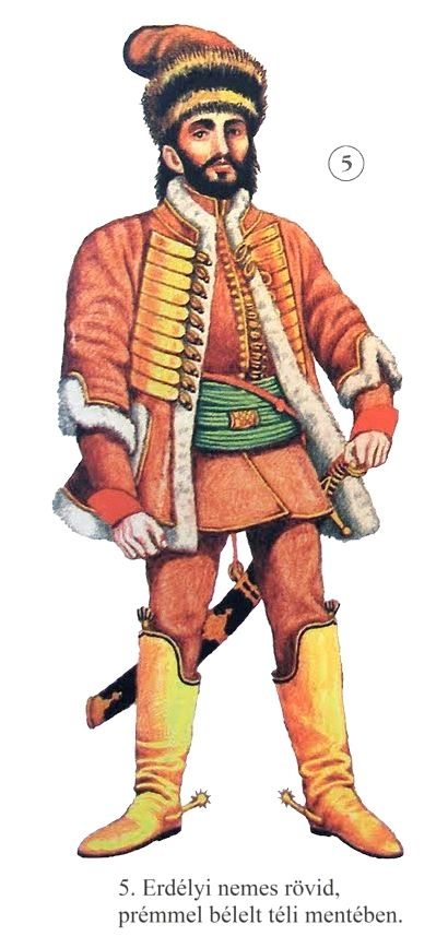 Transylvanian nobleman, 17th century