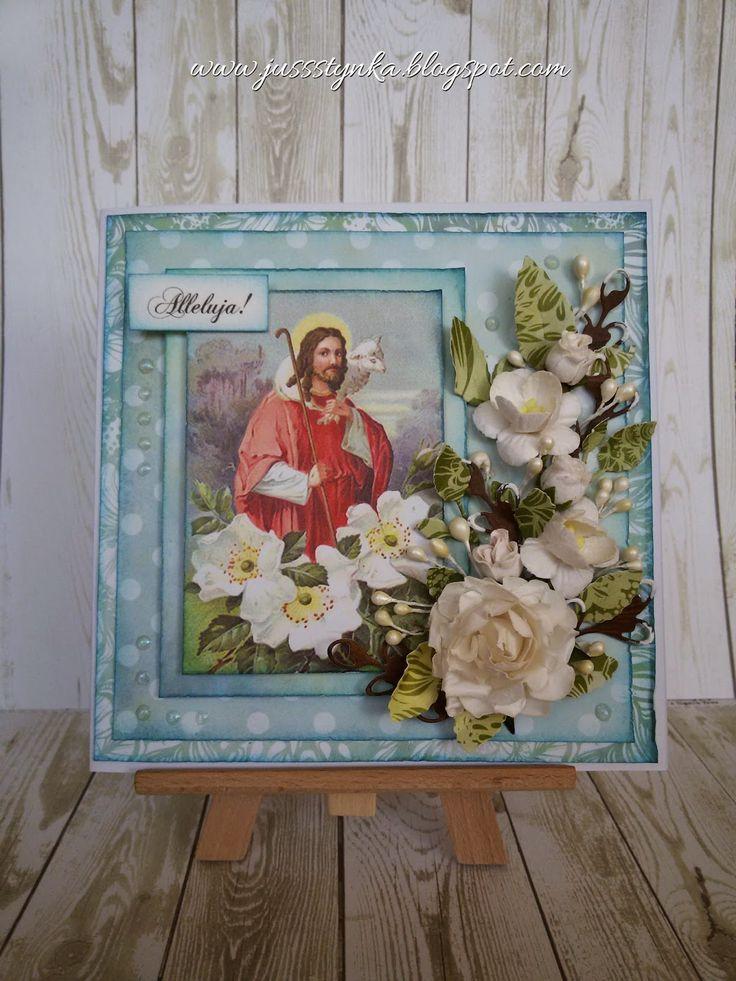 Jussstynka: Wielkanocnych kartek ciąg dalszy ...