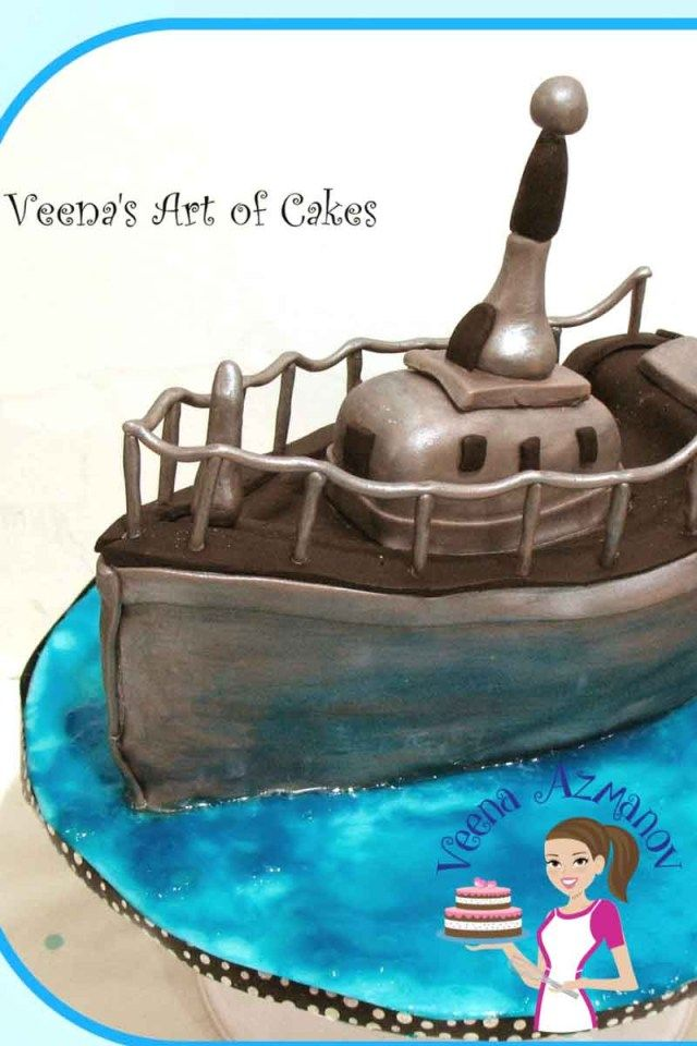 30 Amazing Image Of Navy Birthday Cake Boat For A