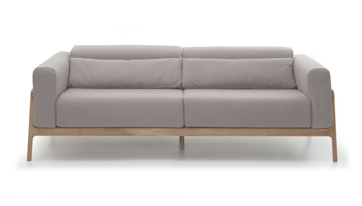 Fawn Large Sofa Everlast Grey