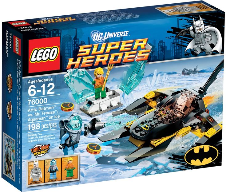 Comparez les prix du LEGO DC Comics Super Heroes 76000 Arctic Batman contre Mr Freeze : Aquaman dans la glace avant de l'acheter ! Infos, description, images, vidéos et notices du LEGO 76000 Arctic Batman contre Mr Freeze : Aquaman dans la glace sur Avenue de la brique