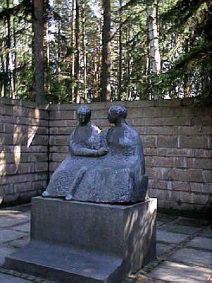 German military cemetery near Helsinki