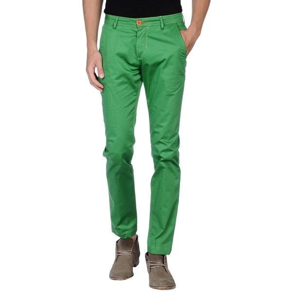 Yan Simmon Casual Pants (525 EGP) ❤ liked on Polyvore featuring men's fashion, men's clothing, men's pants, men's casual pants, green, mens stretch pants, mens chino pants, mens chinos pants, mens zip off pants and mens cotton pants