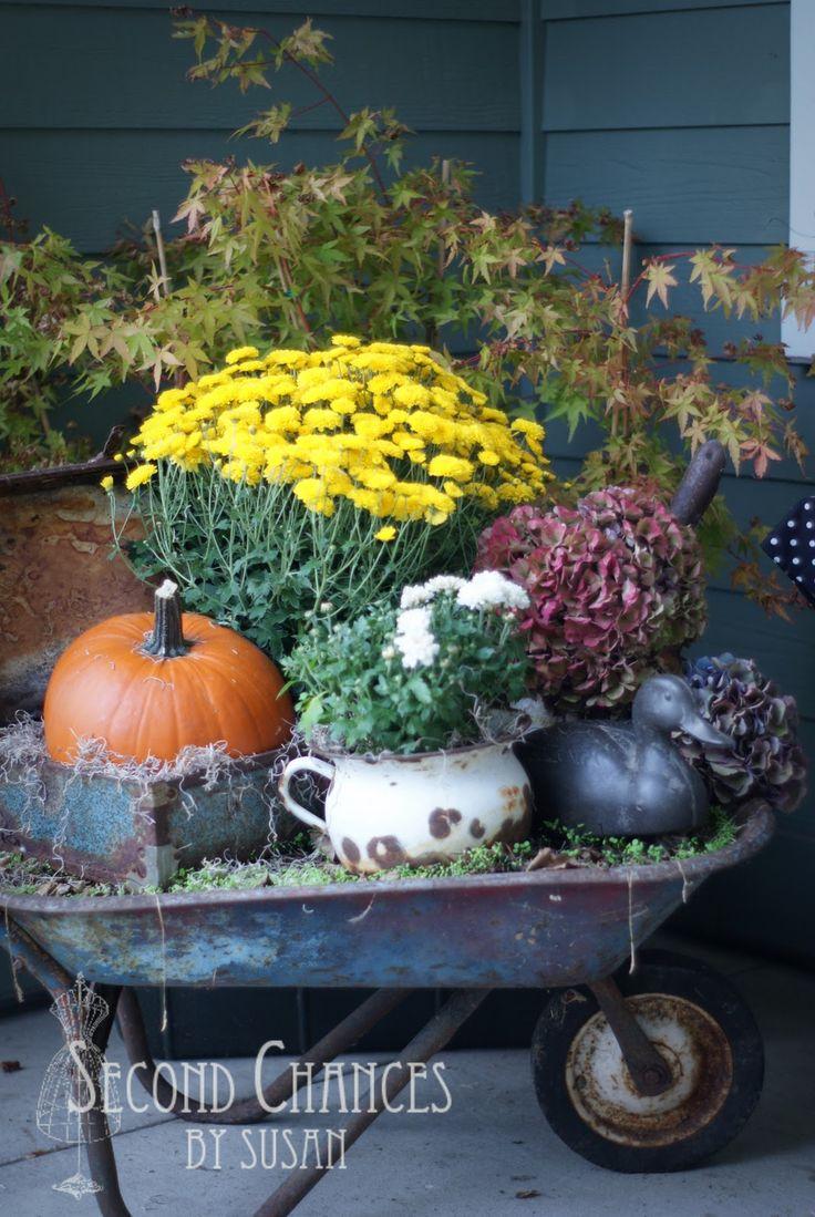 Second Chances by Susan: Autumn Porch