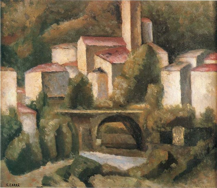 San_Giacomo_di_Varallo. Carlo Carrà