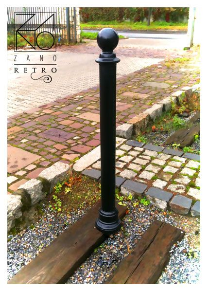 Cast iron street bollards | ZANO