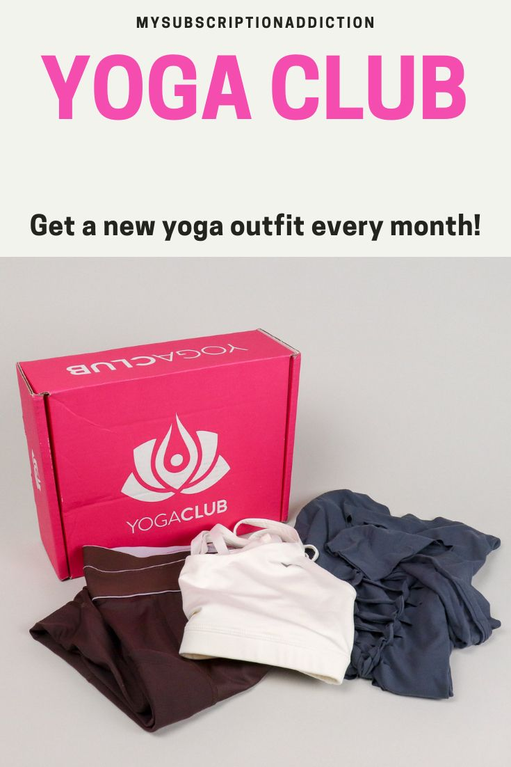 YogaClub   Subscription Boxes for Women   Most popular