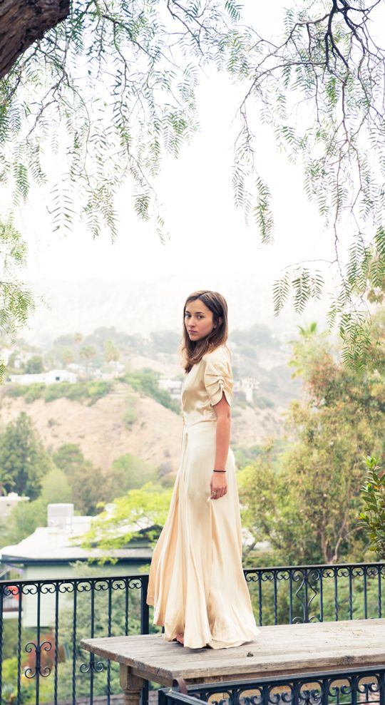 Love A Dress Shot, Super Pretty, With Detailing of Interior or Architecture