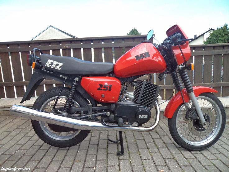 1993 MZ ETZ 251