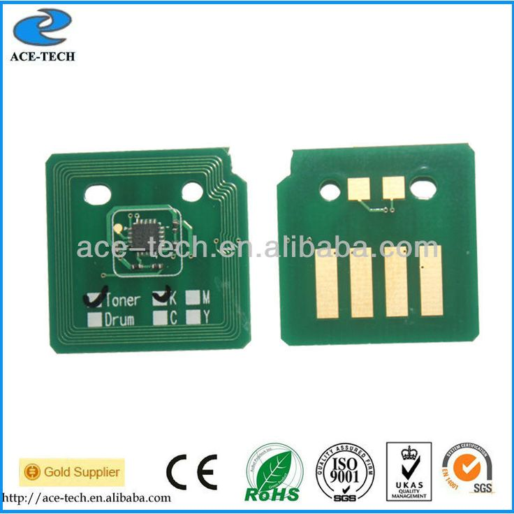 Free shipping 006R01517~006R01520 toner cartridge reset chip for Xerox WC 7525 7530 7535 7545 7556 laser printer or copier
