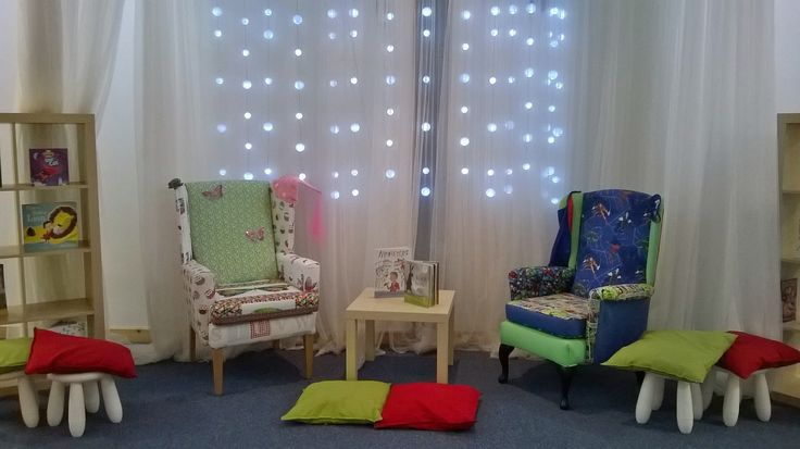 Fab reading area - chairs by SR Upholstery
