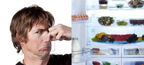 """Astuce maison: Comment se débarrasser d'une mauvaise odeur au frigo ? Avec un bol de vinaigre blanc. Ça marche bien, mais on sent l'odeur du vinaigre ( qui ne me dérange pas d'ailleurs )-  Nota : je n'ai jamais eu de problème d'odeurs dans mon frigo avant d'acquérir ce frigo dit à """"froid ventilé""""."""