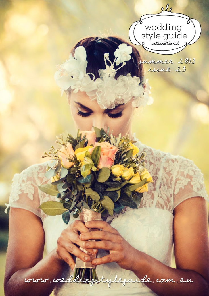 Wedding Style Guide Summer 2013 Issue - Cover by BLU Wedding Boutique