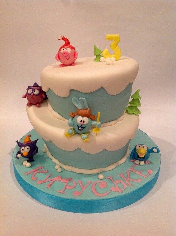 Смешарики #Детскийторт #Тортднепропетровск #тортназаказ #торт #cake #ideacake