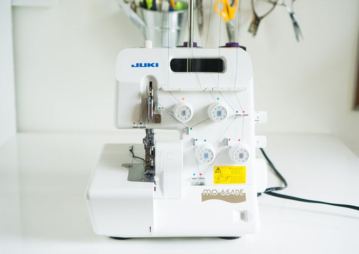 A rave serger review for the Juki MO654DE overlocker, including pictures and video of the machine in action.