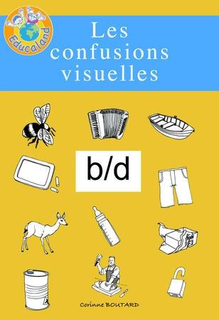 Les confusions visuelles : b/d - Plus de 60 fiches photocopiables !  Educaland.com