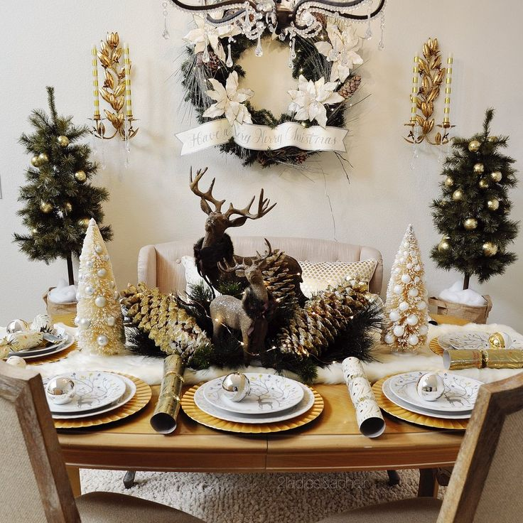 892 Best Holidays Christmas Tablescapes Images On