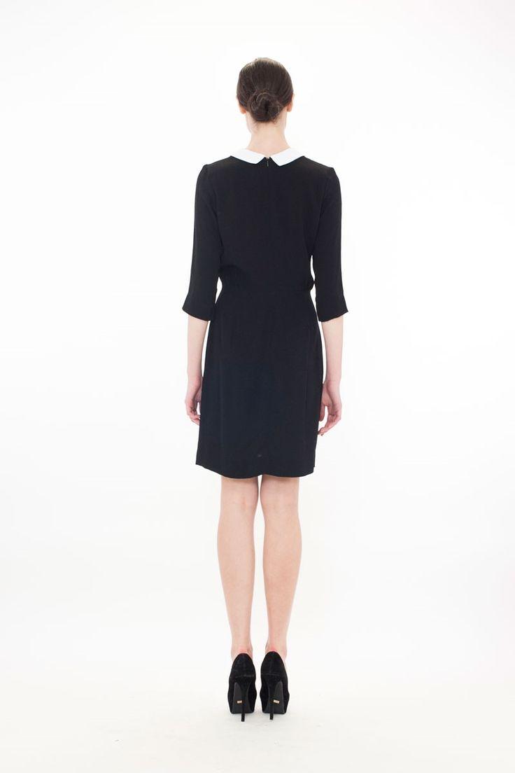 BET YOUR BOTTOM COLLAR Dress - RUSH HOUR BOARDROOM SP14 : Boardroom-New In : Trelise Cooper Online
