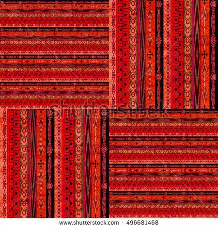 vintage ethnic seamless pattern texture dark on bright background stripe.