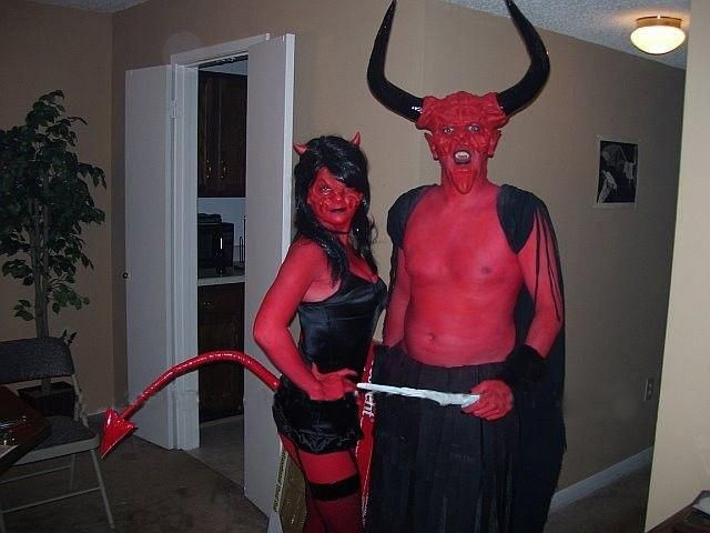 robot devil halloween costume