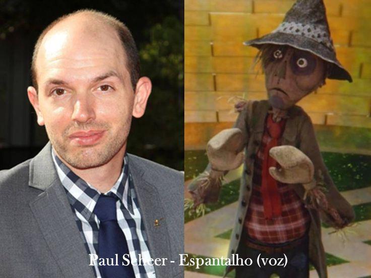 Paul Scheer-Espantalho(voz)