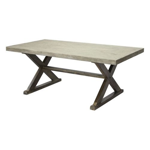 CDI International Concrete Dining Table