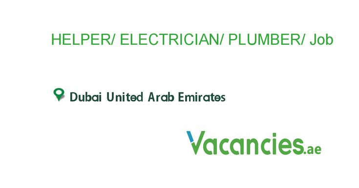 Helper Electrician Plumber Technician Foreman With Images