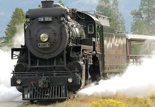Ride the Kettle Valley Steam Train