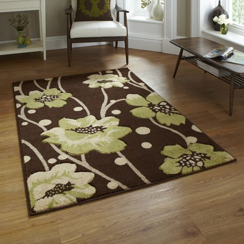 For High Quality Rugs At Great Prices The Verona 216 Modern Rug Brown Green A Price And Get Free Fast Delivery
