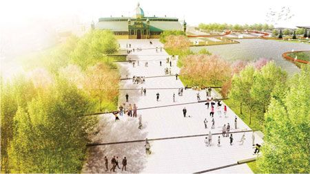 Lansdowne Park Competition by WAA