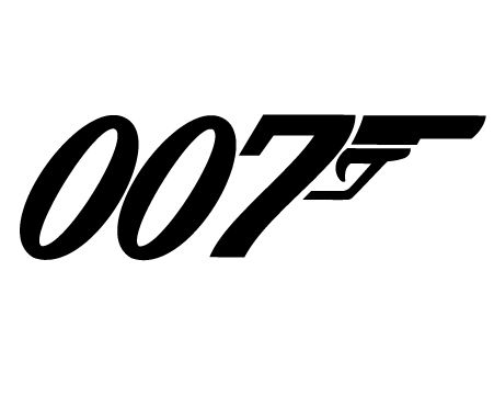 James Bond logo. A love mark with a lot of action!!