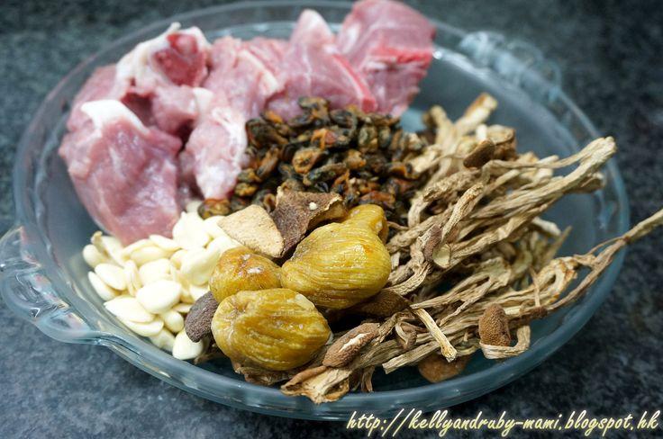 何師奶《全職煮婦生活逸事+烹飪分享》: 補腎健脾、調肝養血~《茶樹菇淡菜豬骨湯》(附食譜)